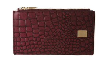 89f3b1326bc COURONNE Women's Bifold Snap Josephine Card Long Wallet